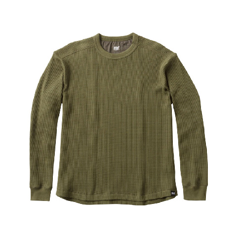 HELLY HANSEN ロングスリーブワッフルクルー L/S Waffle Crew HOE31763